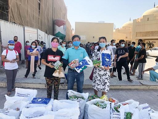 Hands that Help Humanity Project by Dr. Lye Ket Yong , WAB Secretary General in UAE