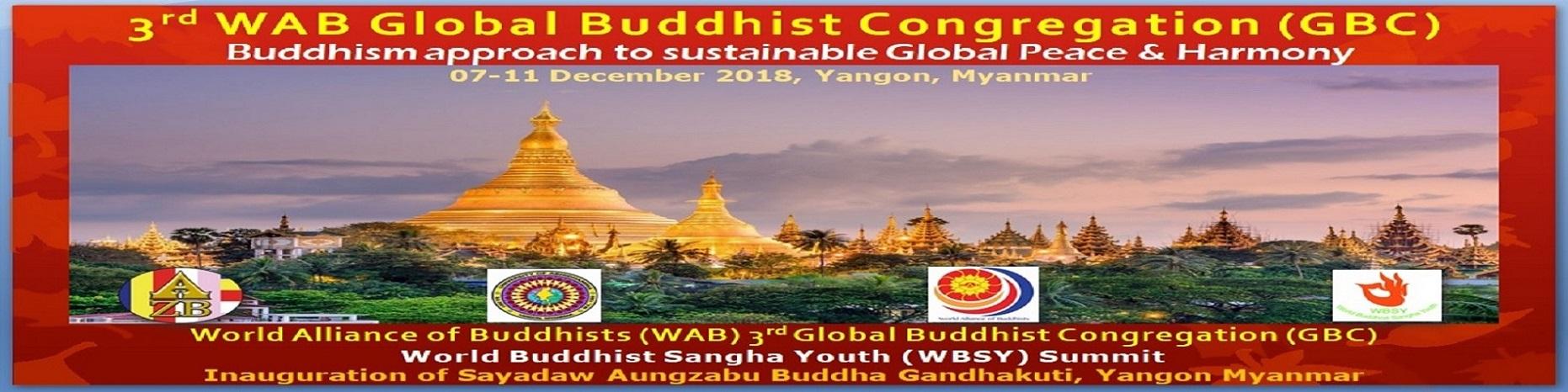 WAB 3rd Global Buddhist Congregation
