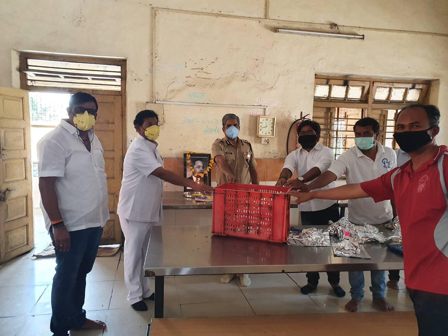 Sambodhi Academy Maharashtra contributed helping hand in due to COVID-19.
