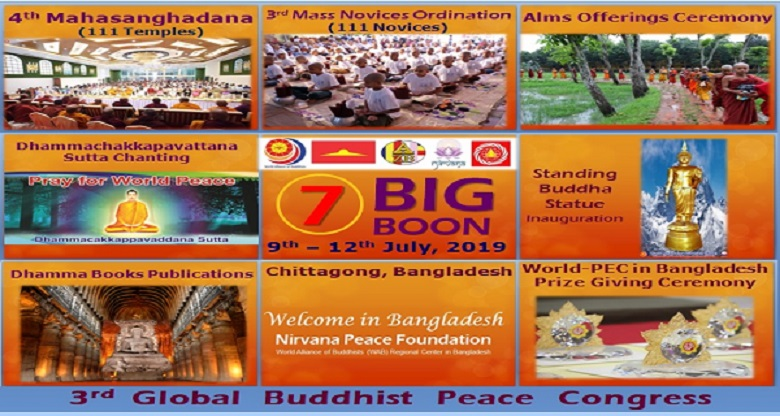 3rd Global Buddhist Peace Congress 2019