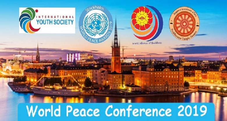 World Peace Conference 2019, Stockholm, Sweden