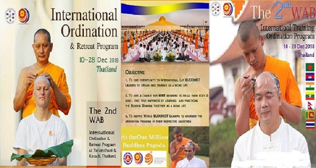 The 2nd WAB International Training & Ordination Program